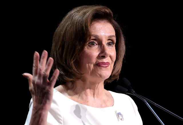 BREAKING: Nancy Pelosi Caught Maskless After Ordering Masks Again in the Capitol