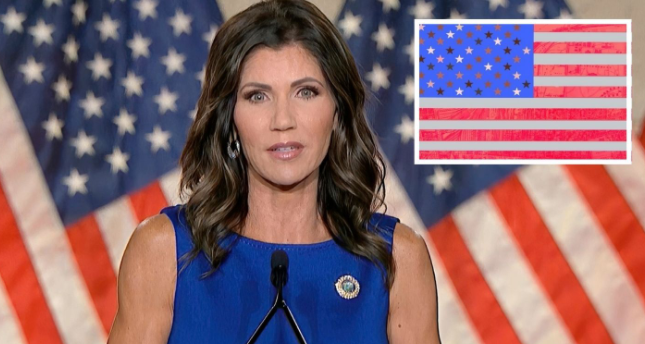 Just In: Gov. Kristi Noem Blasts Pop Star's Call to Ditch American Flag