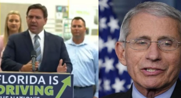 WATCH: Florida Gov. DESTROYS Dr. Fauci in New Statement (VIDEO)